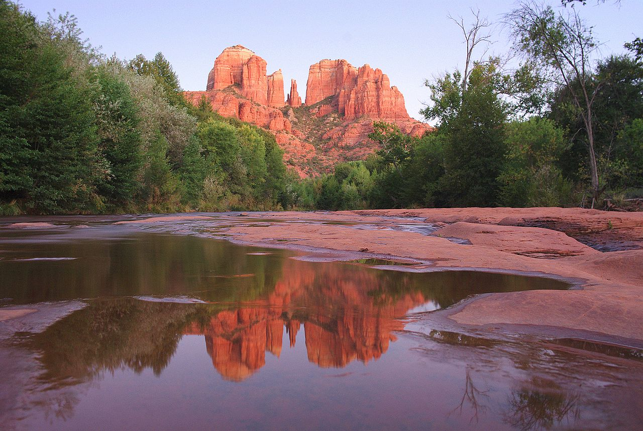 Cathedral Rock at Red Rock Crossing. - Adam Baker
